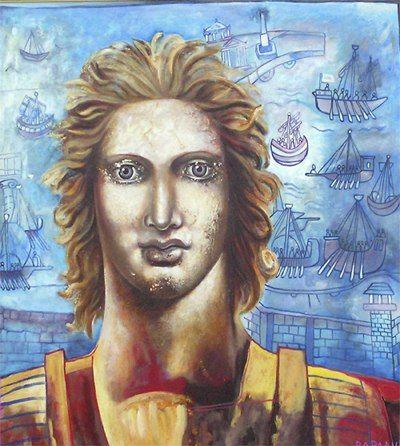 Μέγας Αλέξανδρος - alexander the great - King of the Greek kingdom of Macedonia - Varlamis Euthymis