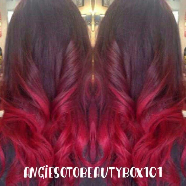 Cherry red òmbre