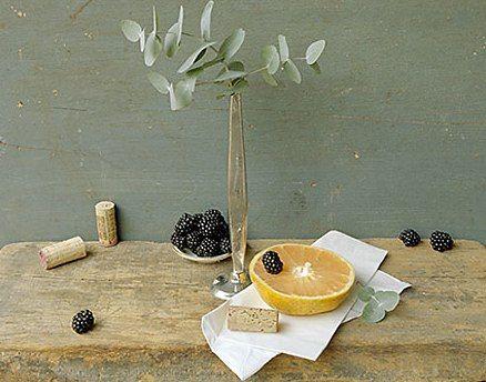 David Halliday - Color Still Lifes - Grapefruit & Eucalyptus
