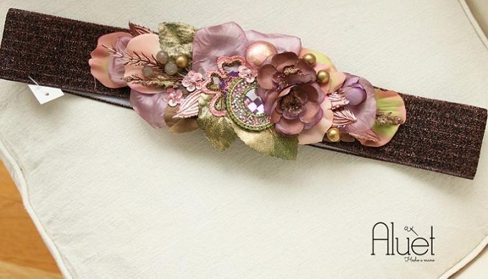 cinturones de flores comprar