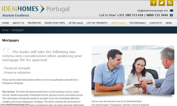 Ideal homes Portugal the expert Agent, villas, town house, apartments for sale in the Algarve.We assist buyers in their quest to Buy property in Portugal.