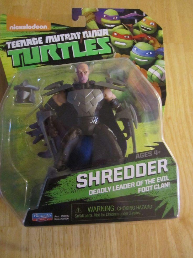 Teenage Mutant Ninja Turtles Shredder TMNT Action Figure Sealed New In Package!