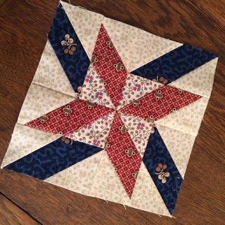 Betsy's Best .....quilts and more: Week 1 Moda Block Heads Block of the Week