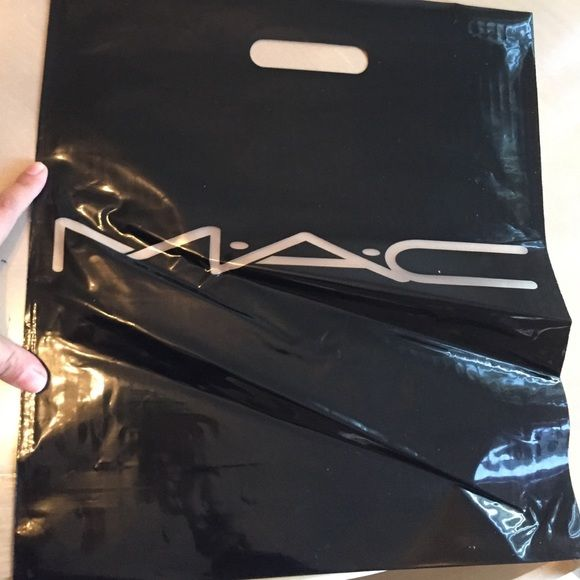 Mac large plastic bags 25pc. New never used large mac plastic bag total of 25 pieces! Great for a collector!!! 100% authentic i have more if need! MAC Cosmetics Makeup