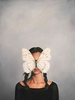 ANGEL MASK by Amy Judd Art, via Flickr