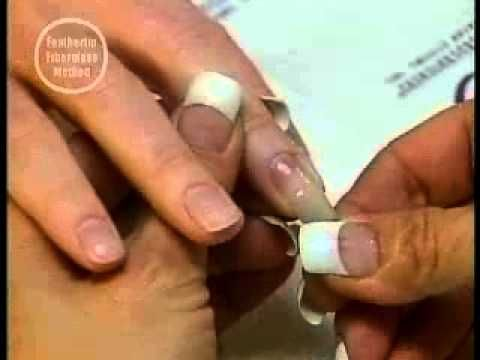 ▶ FIBERGLASS & SILK NAILS Glass Glaze Tutorial-Backscratchers - YouTube