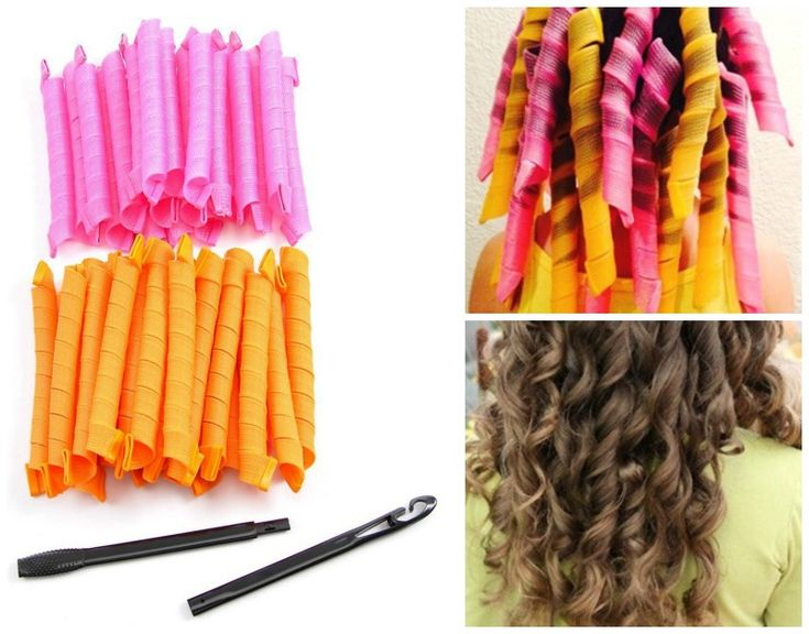 Extra Long Spiral Curlers Set of 40 for $11.13 #amazon #curlers