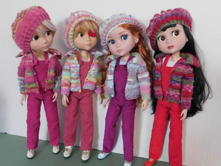 https://flic.kr/p/F9ifXE | Jewel Brights | Kiki, Zsa Zsa, Bel and Mimi in their jewel tone outfits