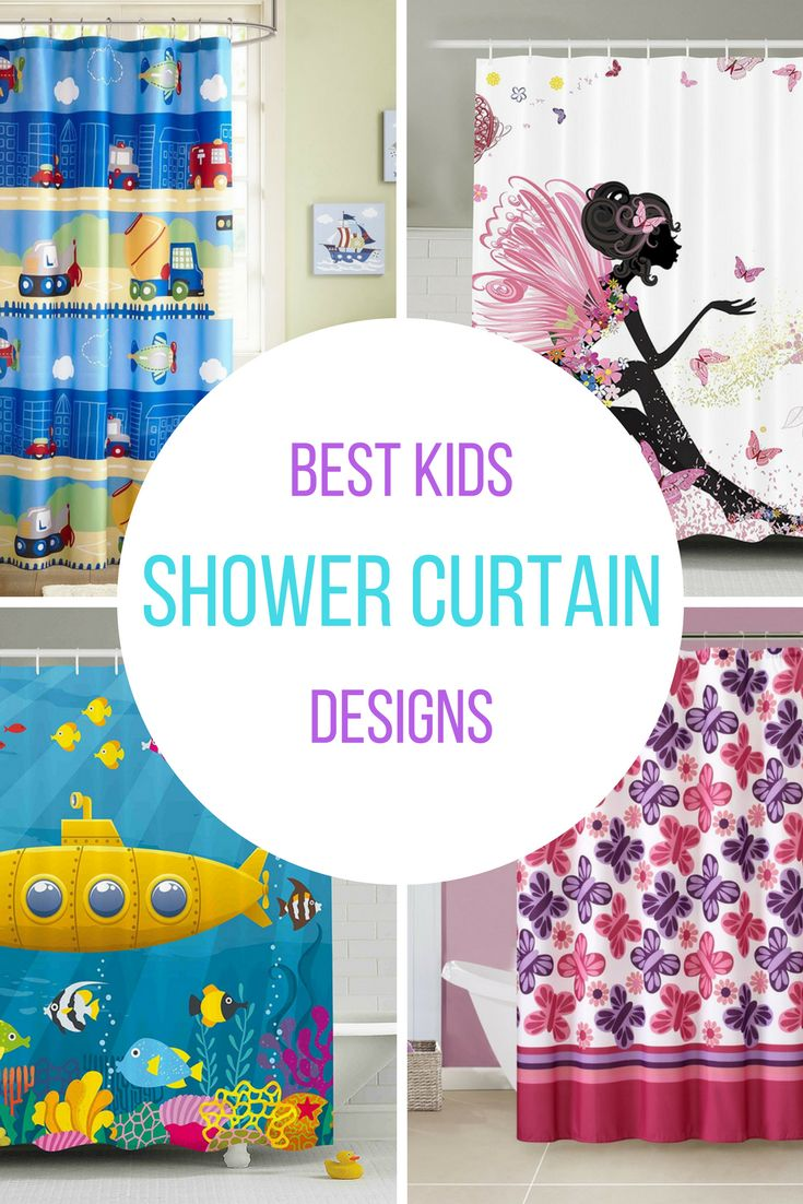 Looking for an easy and inexpensive way to let your child personalize the bathroom? Kid's shower curtains are the perfect solution. A fun shower curtain adds a pop of color and personality to your child's space and makes your kids look forward to bath time! Take a look at the best kids' shower curtain designs for 2017.