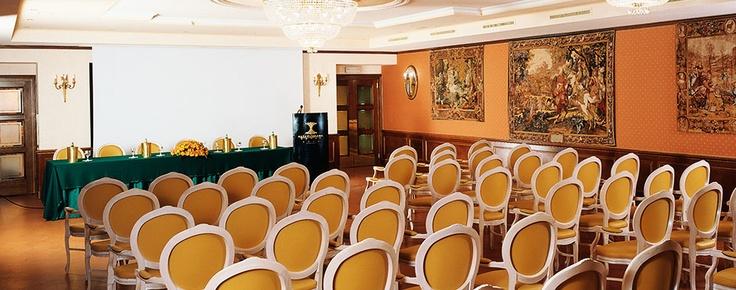 Stile e polifunzionalità  al centro del Mediterraneo.    Altafiumara Resort & Spa dispone di 10 sale congressi di diverse dimensioni, la più grande delle quali può ospitare fino a 300 persone, tutte attrezzate con tecnologie d'avanguardia ed i più moderni servizi dedicati all'utenza business. Per ospitare piccoli e grandi eventi, tutti destinati al successo.