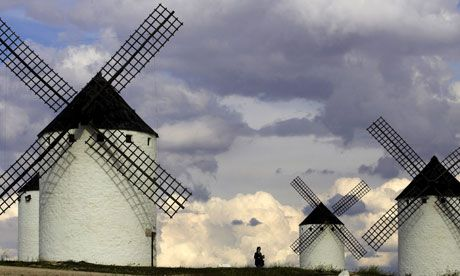 The Guardian list with the 100 greatest novels of all time. From Don Quixote to American Pastoral.
