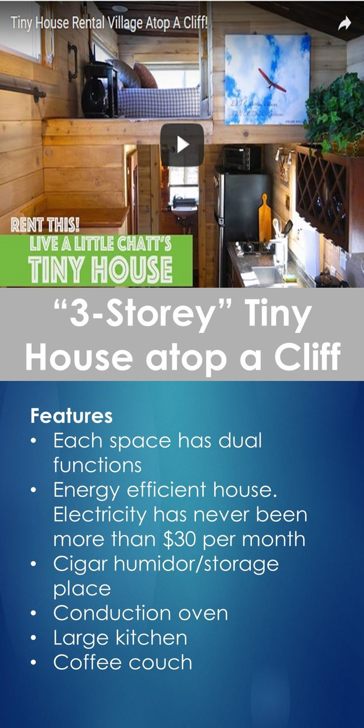 "Tiny House Tour: Tour of ""3-Storey"" Tiny House atop a Cliff   Tiny Quality Homes"
