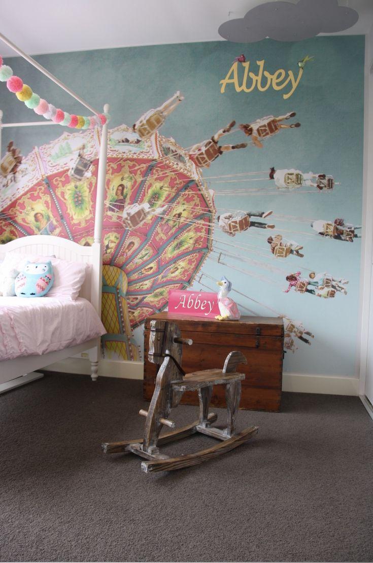 90 best customer examples images on pinterest wall murals swing ride by zila longnecker