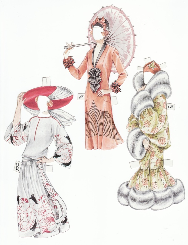 """The Paper Collector: More """"Fifi"""" by Peggy Jo Rosamond - outfits"""