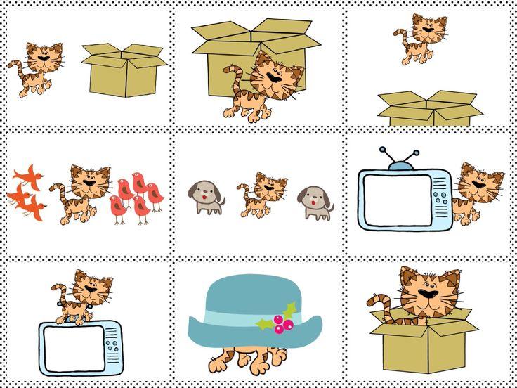 Where is the cat? Prepositions, English. Anglický jazyk, předložky. Více na http://pancelcino.webnode.cz/