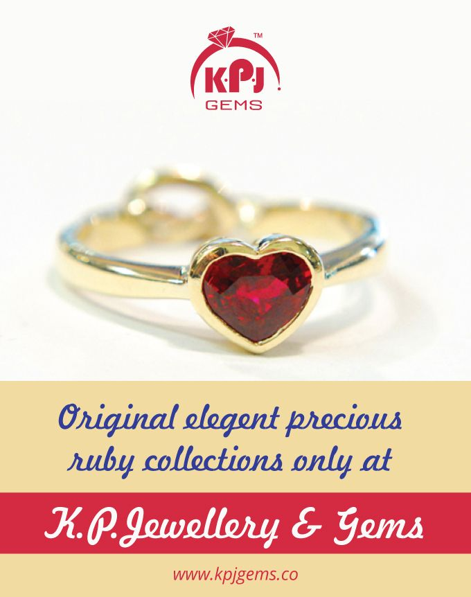 Original Elegant Precious RUBY Collections Only at K.P. Jewellery & Gems For more details log on to www.kpjgems.co Call :- +91 96001 17755 #KPJ   #GemsandJewellery   #Ruby