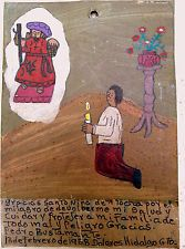 Mexican Retablo Exvoto Christchild of Atocha Health & Family Protection