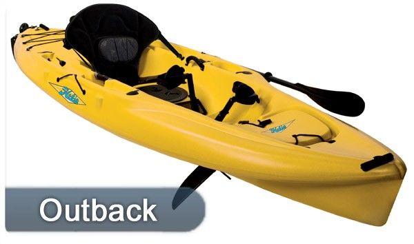 Hobie Kayak Mirage Outback  Single 12 1
