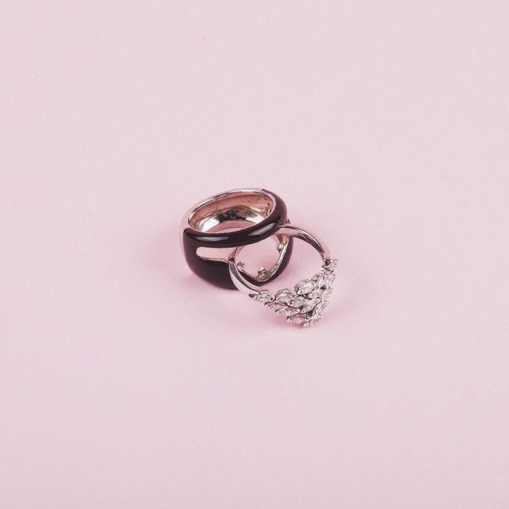 Ela Smalto Marrone  #ring #diamonds #mossa #mossafirenze #jewellery #gold #luxury #madeinitaly #excellence #fashion #style #shop #shopping #inarchivio #archiviostore
