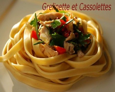 Pâtes fraîches maison, au Kitchen Aid : facile ! - Grelinette et Cassolettes