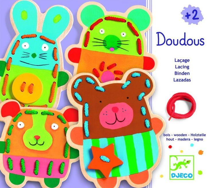 Jeu de laçage Doudous: Amazon.fr: Jeux et Jouets