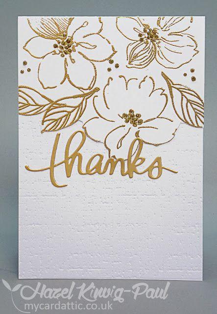 Altenew 'Wild Hibiscus' - Card #1
