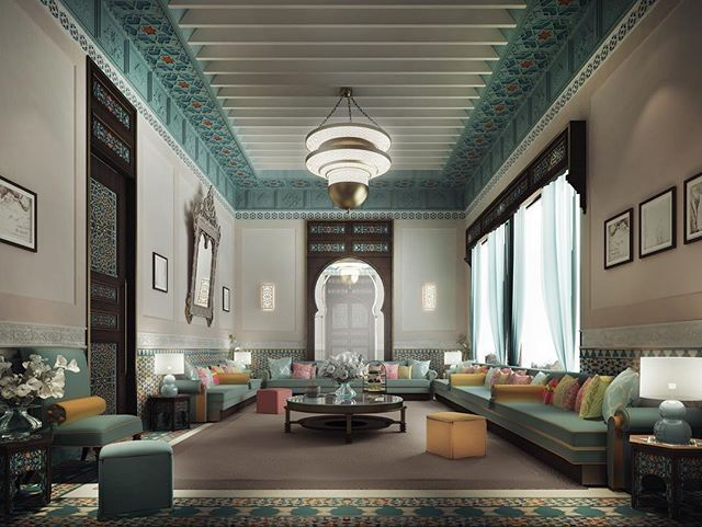 1000 images about arabic decor on pinterest africa for Residential interior design ideas