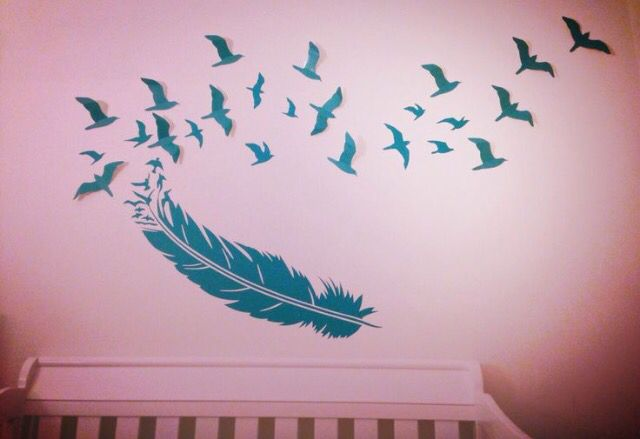 Feathers into birds