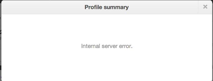 #twitter #servererror