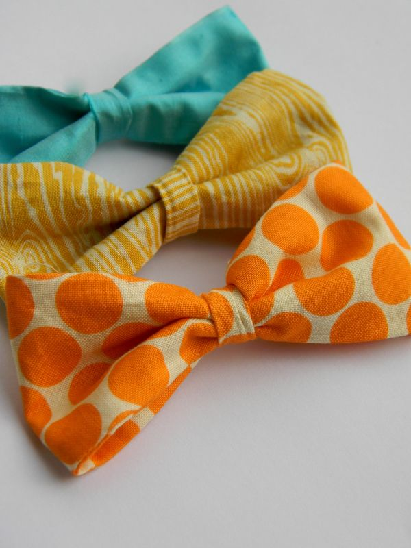 simply homemade: A simple fabric bow tutorial
