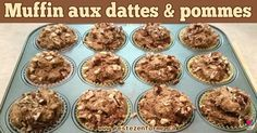 Muffins santé à déjeuner de dattes, pommes et noix - Rester en forme avec Sandra - Beachbody francais
