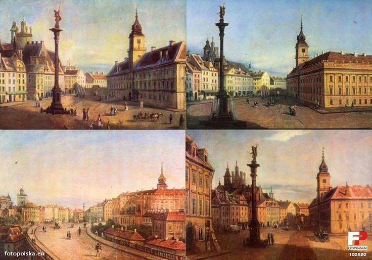 Lata 1750-1850 , Cztery cegiełki na odbudowę Zamku Królewskiego