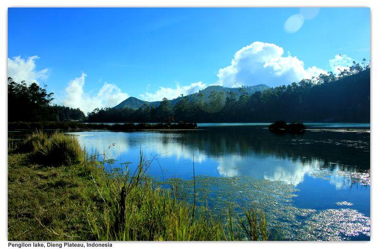 Telaga Pengilon  Dataran Tinggi Dieng, Jawa Tengah, Indonesia