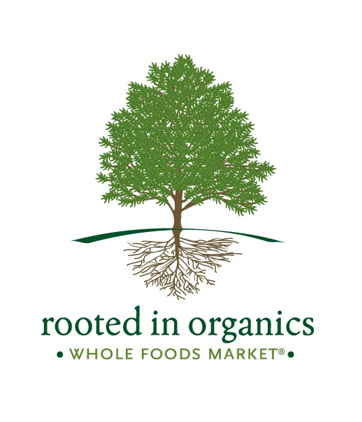 Whole Foods Market Rooted in Organics Logo