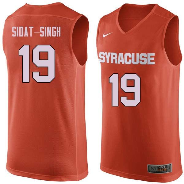 Men 19 Wilmeth Sidat Singh Syracuse Orange College Basketball