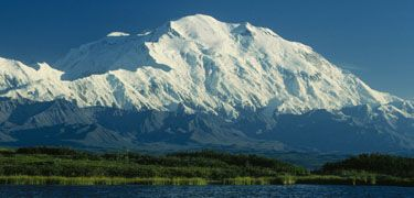 Denali National Park Reserve, Alaska. Sept. best month to visit for best chance to see McKinley cloud-free, active wildlife, no bugs, good deals, less tourists, & Northern Lights. An amazing place. Do the tundra tour. Camp and hike within reserve.