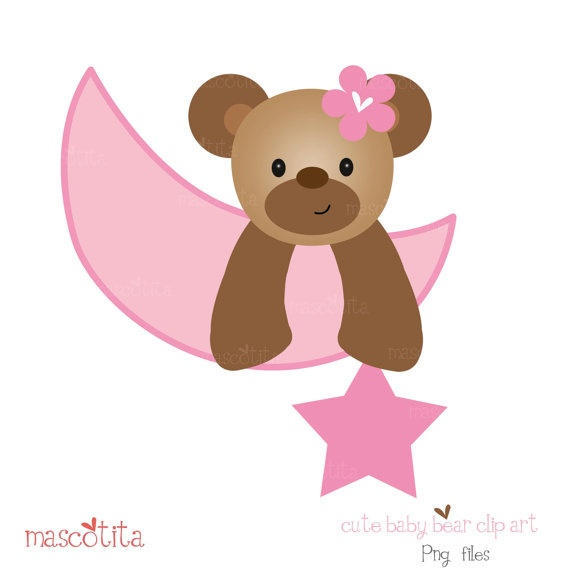 baby bear clip art
