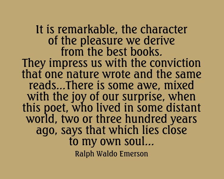 a review of ralph waldo emersons essay the american scholar Ralph waldo emerson is arguably one of the most world-renowned poets and essayists of all time most people know him from works such as self-reliance, experience, and nature.