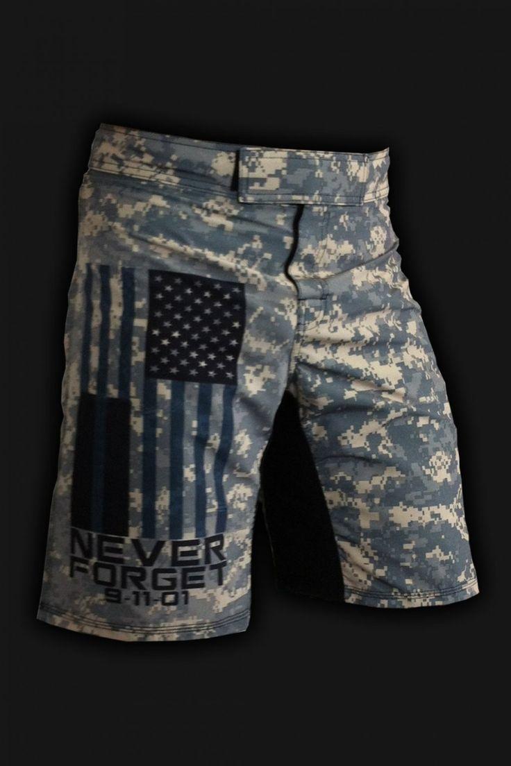 WODshop.com - Rigor Gear   Men's SACRIFICE 9/11 TRIBUTE - WOD Shorts, $55.00 (http://www.wodshop.com/rigor-gear-mens-sacrifice-9-11-tribute-wod-shorts/)