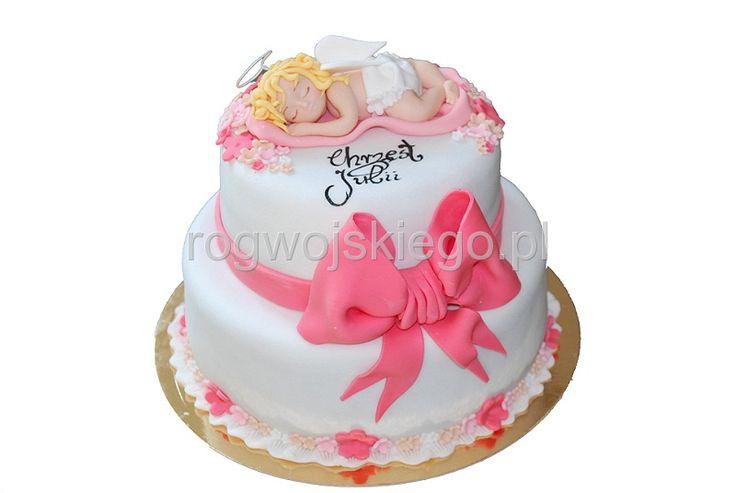Tort na Chrzest Święty, Chrzciny, Baptism cake