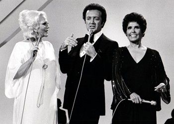 Peggy Lee, Vic Damone, and Lena Horne in 1978 TV special saluting Richard Rogers