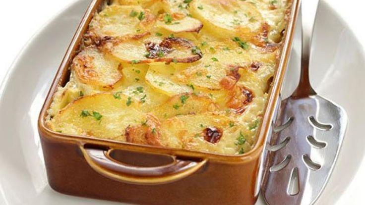 Receta de Gratinado de patatas dauphinoise | Cocina Familiar