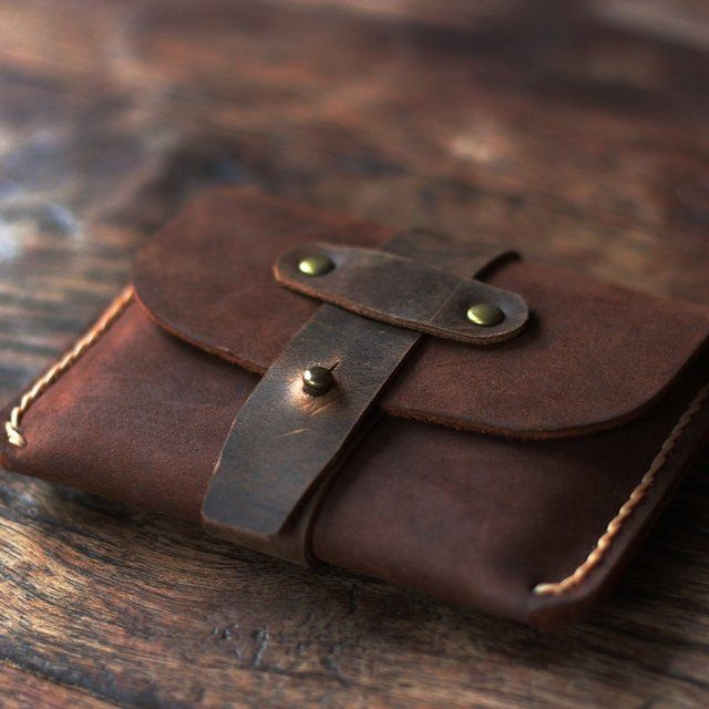 Fancy – Treasure Chest Credit Card Wallet by Oiled Leather Wallets