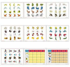 Fichas de Orientación espacial. Fichas gratis para imprimir y trabajar la orientación espacial con los niños. Portal Educapeques
