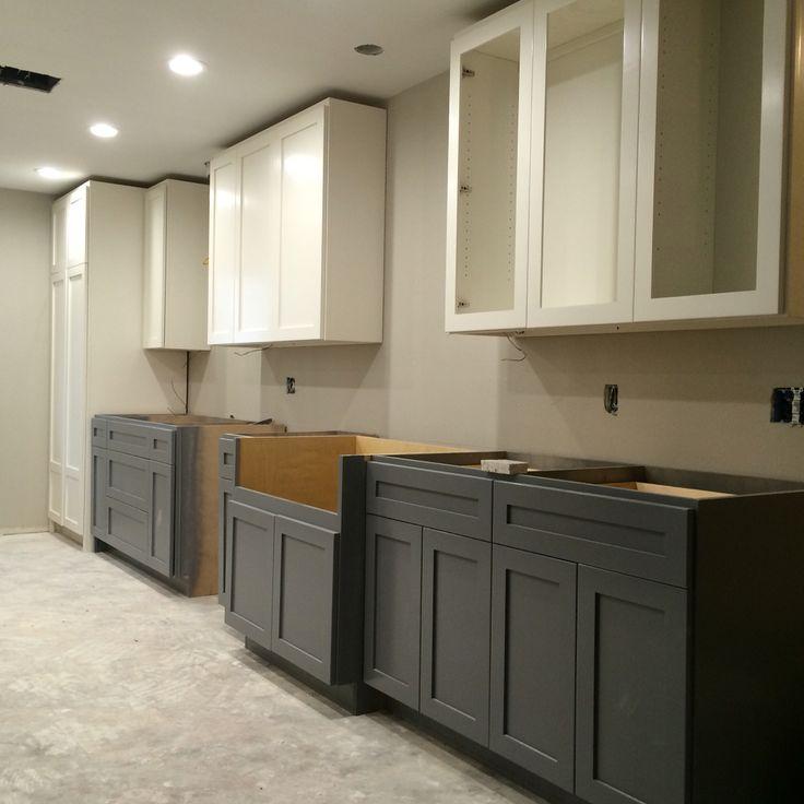 Best + Painted gray cabinets ideas on Pinterest  Gray kitchen