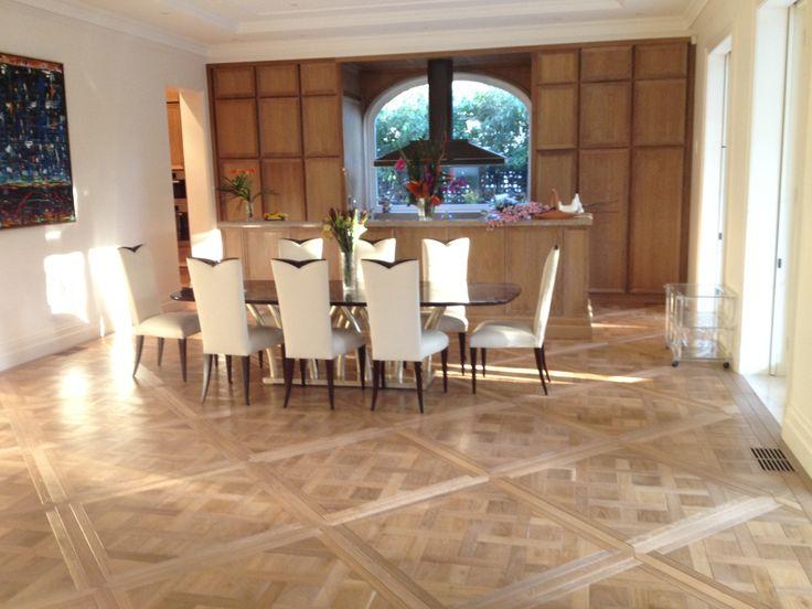 Grand Versailles parquet panels - Flush finish / natural colour with oil