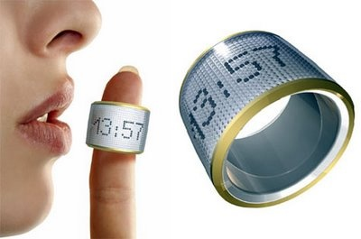 Cool Gadgets, Digitus ring,What time is it? Its pretty obvious you will look at your watch or your cell phone. How about watching time in your ring?