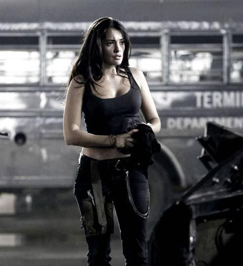 "Natalie Martinez The female lead of Jason Statham starrer ""Death Race"" is actually a racing freak and is often seen revving hard around LA streets."