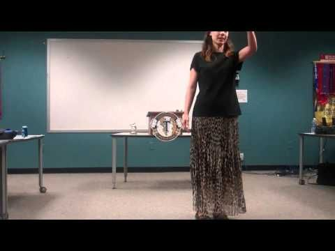 AG Toastmaster Jeanine Goodell in Humorous Contest - Smile - YouTube