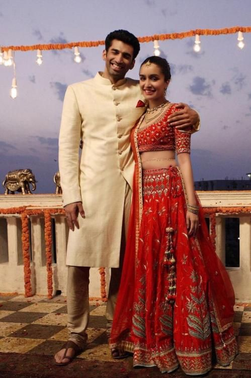 Aditya and Shraddha look their traditional best in this new still from Ok Jaanu! | PINKVILLA